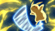 Ash Pikachu Electrified Iron Tail