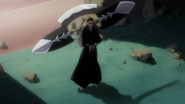 Makoto wielding Reppū