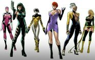 Femme Fatales (Earth-616) by Silas 001