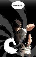 Han Dae-Wi (The God of High School) basaltic fist