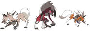 Lycanroc's Forms