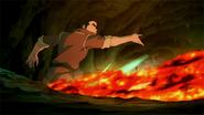 Bolin vs. Ghazan Lavabending Battle