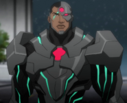Cyborg DC Movie Animated