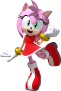Team Sonic Racing Amy no car