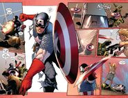 Enhanced Shieldmanship by Captain America Steve Rogers