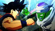 Goku vs piccolo in kakarot games