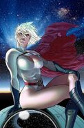 Power Girl space