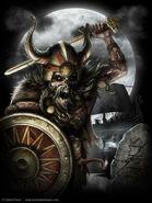 Spiral undead viking
