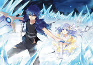 Shido Itsuka Ice power and Sword