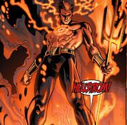 Daimon Hellstrom (Earth-616) from Venom Vol 2 23 001