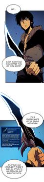 Rasaka's Fang Solo Leveling