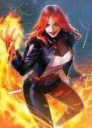 Typhoid Mary the crazed Babe of Mayham (Marvel Comics)