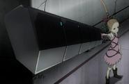 Hibana with weapon anime