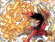 Luffy fire manipulation