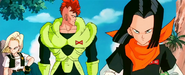 Android 16 17 18 (Dragon Ball)
