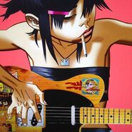 Noodle, Guitarist of the Gorillaz