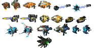 Ractchet Deadlock Weapons