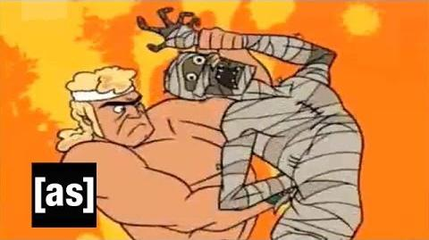 Defiling a Mummy The Venture Bros