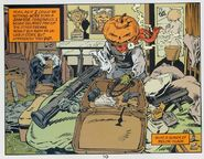 Mervyn Pumpkinhead (The Sandman) guns
