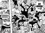Luffy destroy wedding cake
