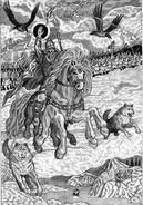 Odin (Norse Mythology) wild hunt