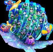 Luiginary Attack Artwork1 - Mario & Luigi Dream Team