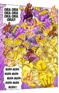 Speed Combat By Star Platinum Vs. The World