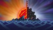 Duel at Banaro Island (One Piece)