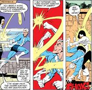 Speed Combat by Monica Rambeau