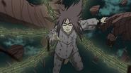 Karin (Naruto) Adamantine Attacking Chains 2
