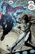 Mighella VS Maul Force lightning