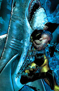 Wolverine Vs. A Shark