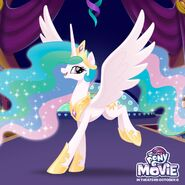 MLP movie Celestia Day promotional image