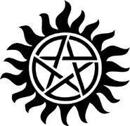 Anti-Demon Possession Tattoo