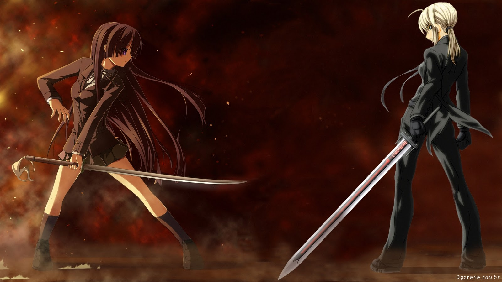 image 5297 1 other anime hd wallpapers anime girls fighting sword