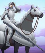 Beruka Furcas and Horse Full