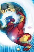 Iron Man Armor's Sonic Boom (Marvel Comics)