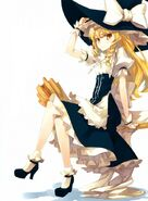 Marisa Kirisame (Touhou Project) broom