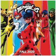 Miraculous Ladybug Season Four Poster