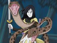 Orochimaru sword tree snakes