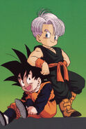 Trunks and Goten Dragon Ball Z