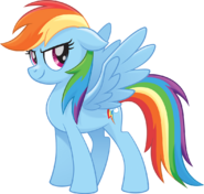 MLP The Movie Rainbow Dash official artwork