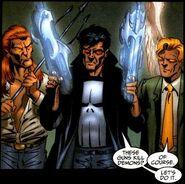 Punisher Purgatory Angel Guns Marvel Comics