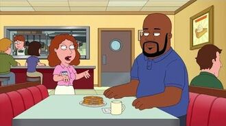 Shaq Gets Angry Family Guy