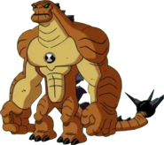 Reboot Humungousaur Standing Pose PNG