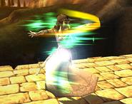 Zelda Using Farore's Wind