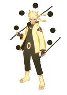 Six Paths Sage Mode Naruto