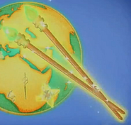 XC Morphing Chopsticks (Xiaolin Showdown)