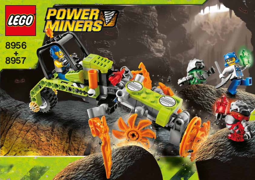 Cave Cutter Lego Power Miners Wiki Fandom Powered By Wikia