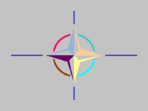 Bandera de la Alidaim